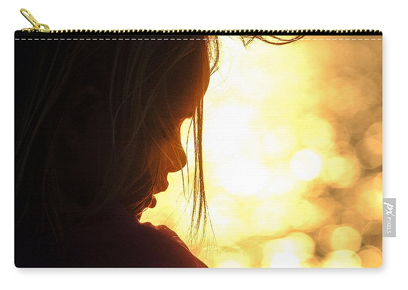 Africa Carry-all Pouch featuring the photograph Sunset Dream by Alistair Lyne