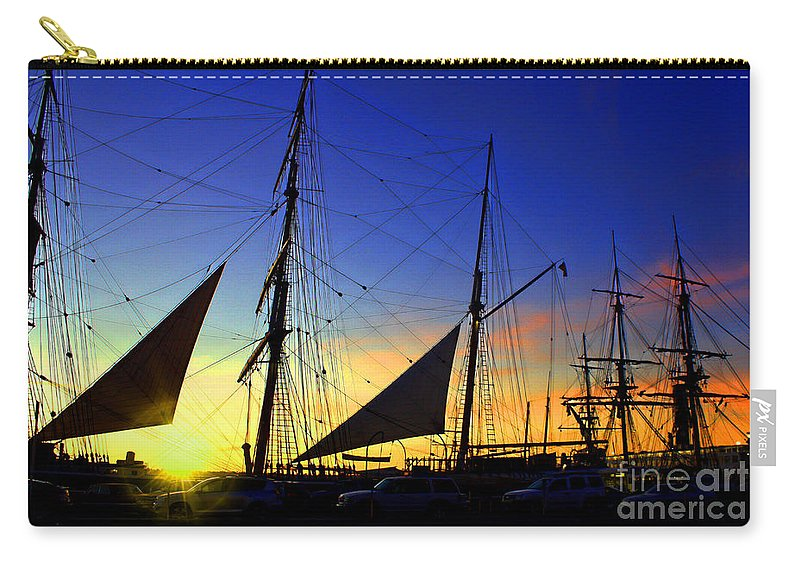 Sunset Carry-all Pouch featuring the photograph Sunset Over The Star Of India by Tommy Anderson