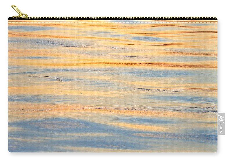 Water Carry-all Pouch featuring the photograph Sunset Reflected - Cooper River Charleston South Carolina by Bill Swindaman