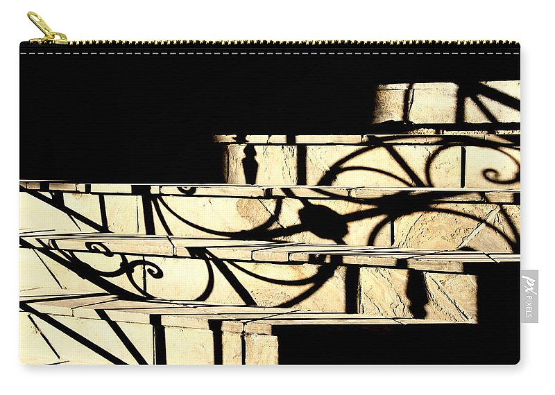 Sunset Carry-all Pouch featuring the photograph Sunset Steps by Valentino Visentini