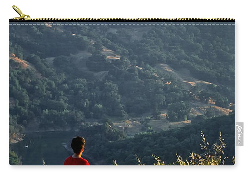 Americas Carry-all Pouch featuring the photograph Sunset View by Roderick Bley