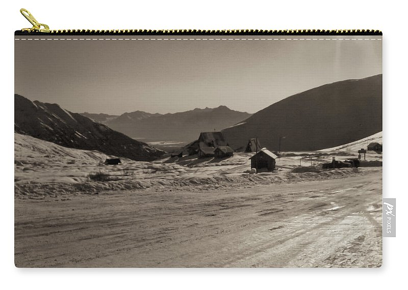 Alaska Carry-all Pouch featuring the photograph Sunshine At Hatcher Pass by Roger Wedegis