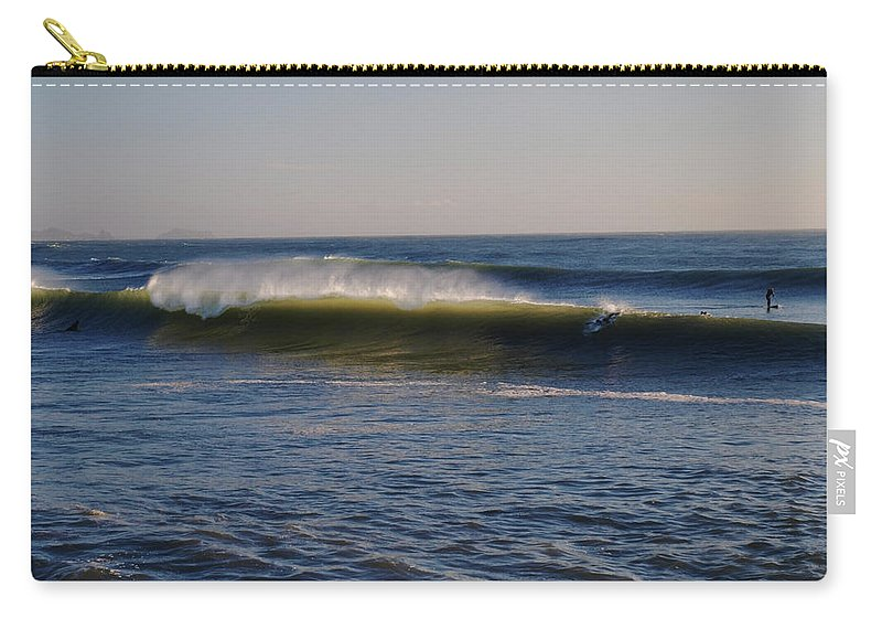 Ocean Carry-all Pouch featuring the photograph Surfers Make The Ocean Better Series by Teri Schuster