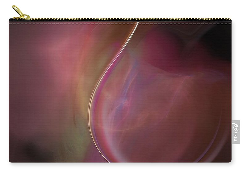Digital Art Carry-all Pouch featuring the digital art Sweet Dreams by Christy Leigh