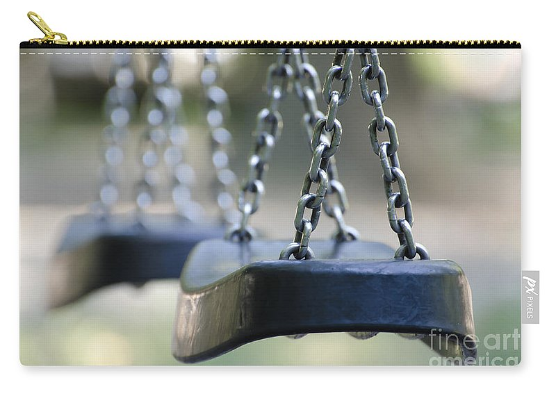 Swing Carry-all Pouch featuring the photograph Swing by Mats Silvan