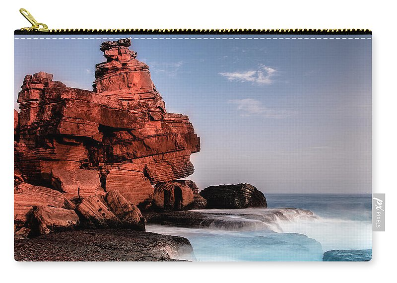 Rock Carry-all Pouch featuring the photograph Table Water by Edgar Laureano