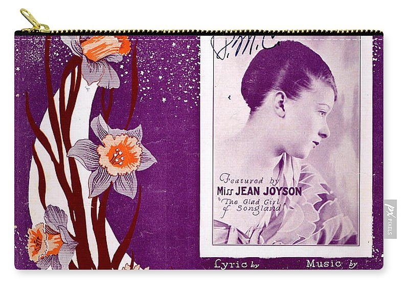 Classic Carry-all Pouch featuring the photograph Take In The Sun Hang Out The Moon by Mel Thompson