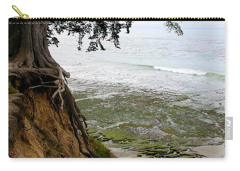 Landscape Carry-all Pouch featuring the photograph Tangled Overlook by Kathleen Grace
