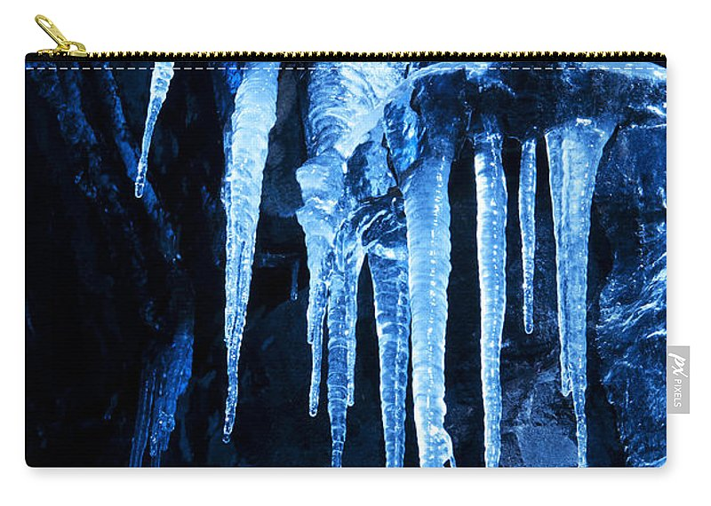 Ice Carry-all Pouch featuring the Tentacles Of Ice by Glenn Gordon