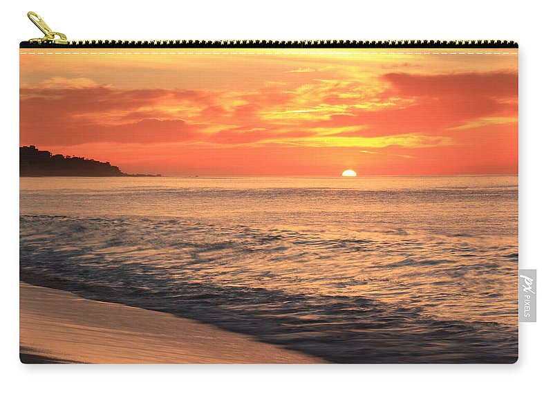 Tequila Sunrise Carry-all Pouch featuring the photograph Tequila Sunrise by Roupen Baker