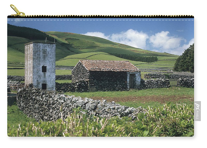 Farm Carry-all Pouch featuring the photograph Terceira by Guy Whiteley
