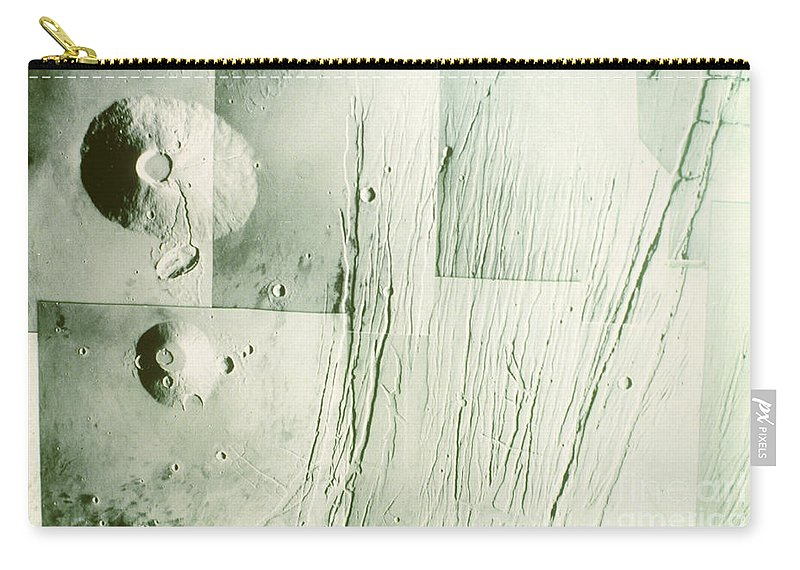 Tharsis Bulge Carry-all Pouch featuring the photograph Tharsis Bulge by A.s.p.
