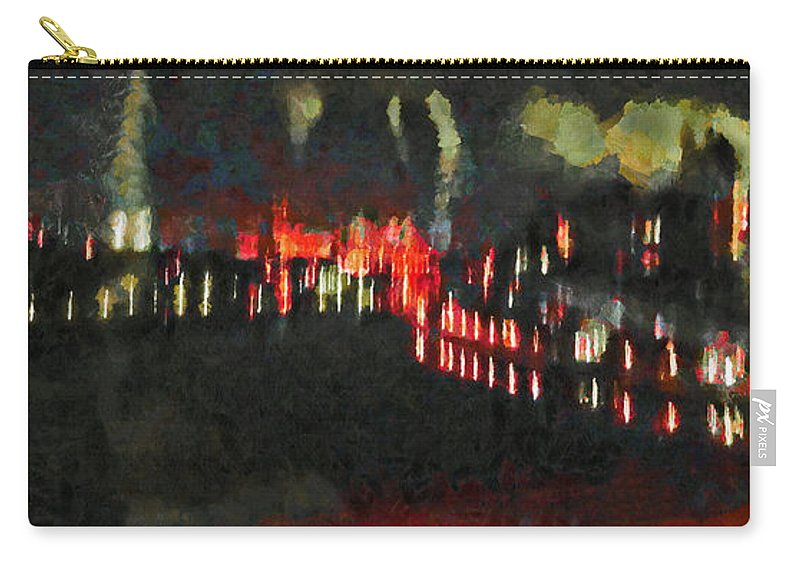 The Air That We Breath Carry-all Pouch featuring the digital art The Air That We Breath by Steve Taylor