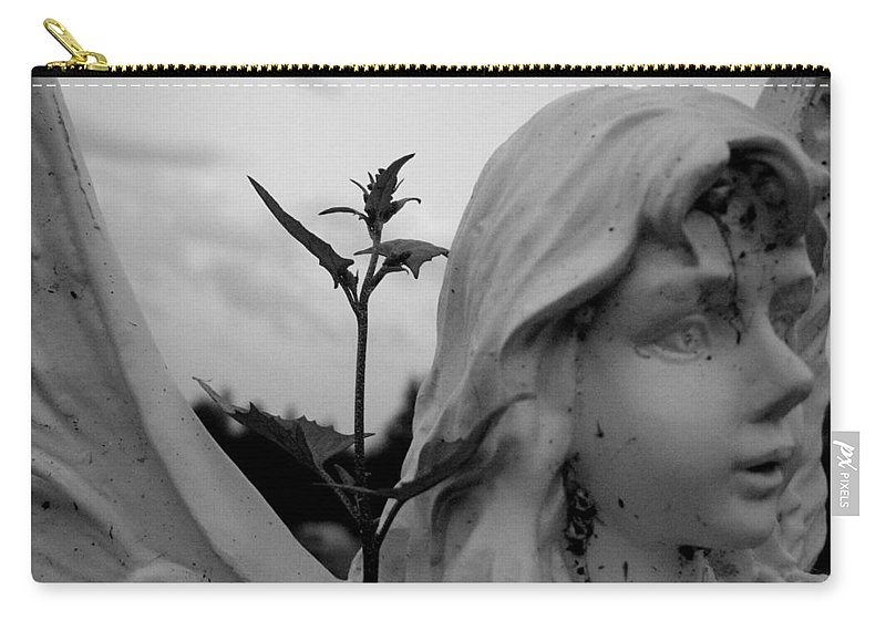 Angel Carry-all Pouch featuring the photograph The Angel by Leanne Karlstrom