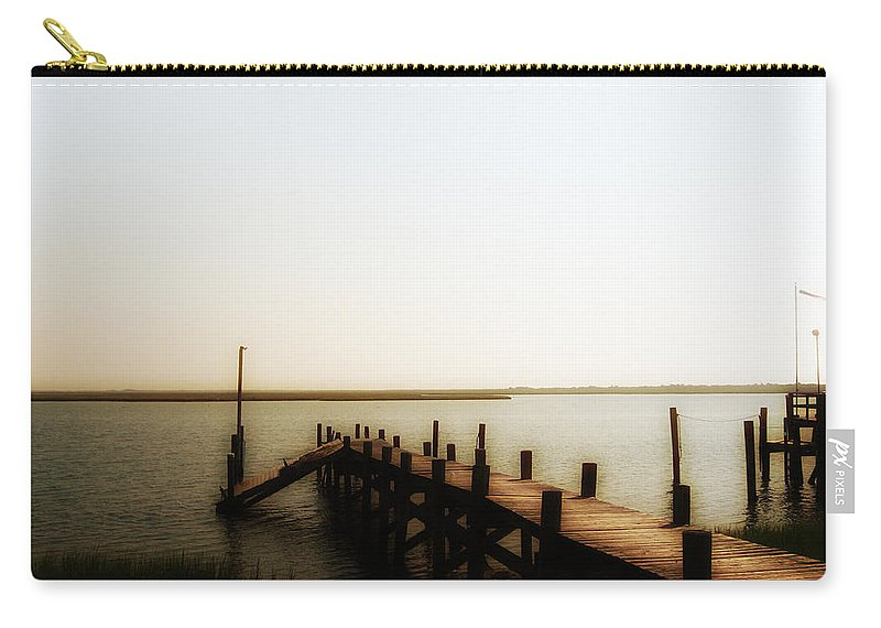 The Back Bay Carry-all Pouch featuring the photograph The Back Bay by Bill Cannon