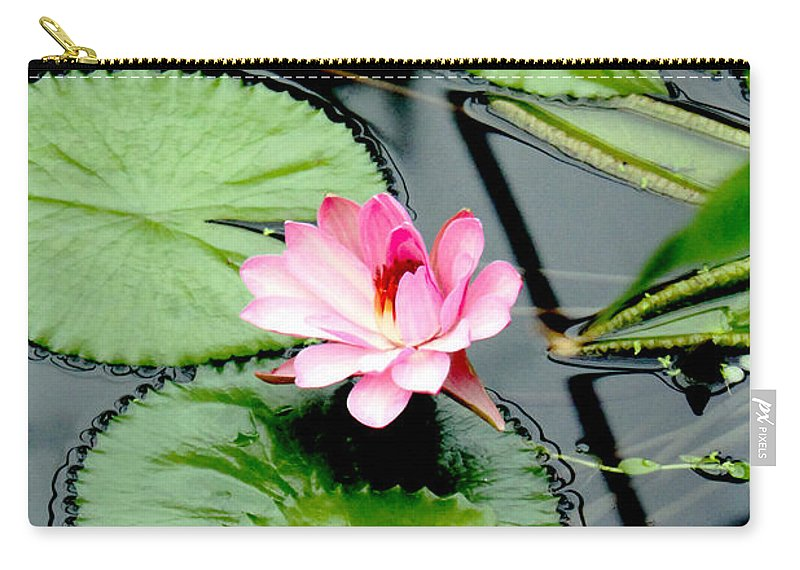 Water Lily Carry-all Pouch featuring the photograph The Beauty Of Water Lily by Jasna Buncic