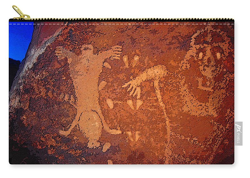 Art Carry-all Pouch featuring the painting The Birthing Scene by David Lee Thompson