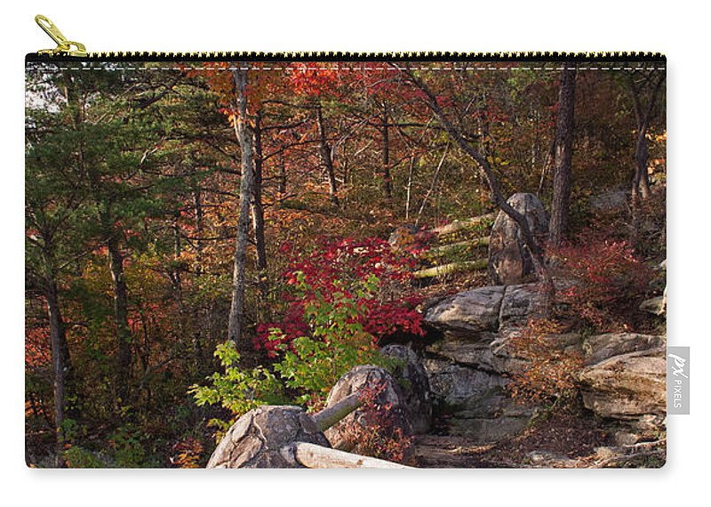 Bluff Carry-all Pouch featuring the photograph The Bluff by David Troxel