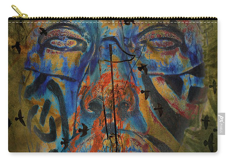 Aces Carry-all Pouch featuring the photograph The Change Of Faces by The Artist Project