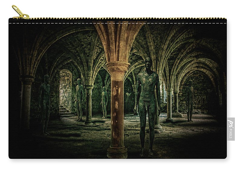 Crypt Carry-all Pouch featuring the photograph The Crypt by Chris Lord