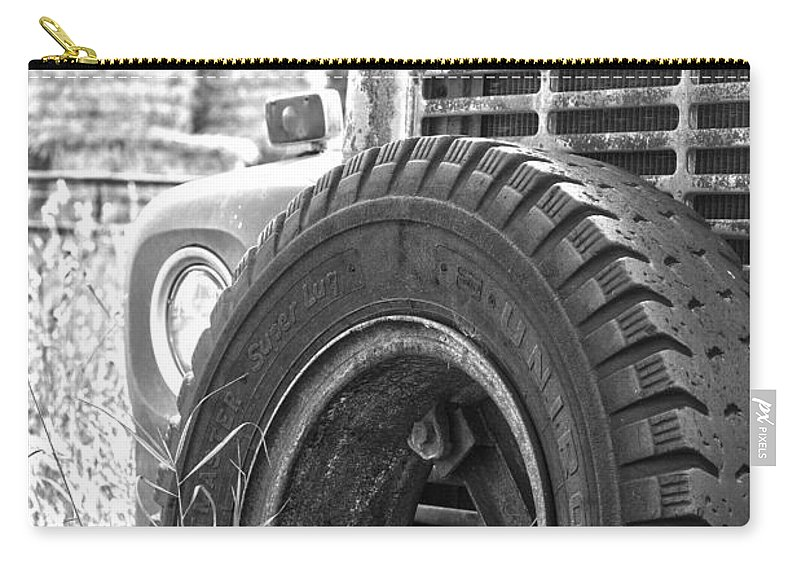 : Jerry Cordeiro Framed Prints Framed Prints Photographs Photographs Photographs Photographs Carry-all Pouch featuring the photograph The Dead Work Truck by The Artist Project