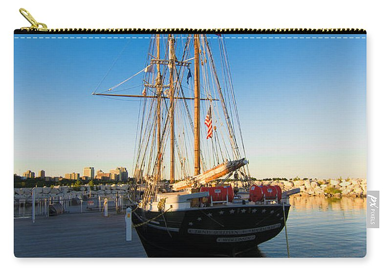 Denis Sullivan Carry-all Pouch featuring the photograph The Denis Sullivan by Jonah Anderson