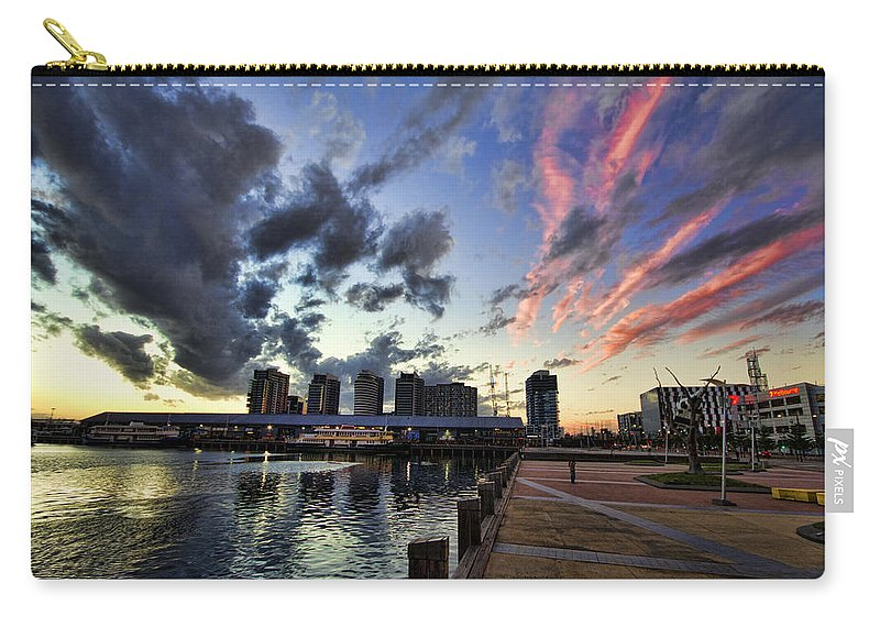 The Dockyard Carry-all Pouch featuring the photograph The Dockyard by Douglas Barnard