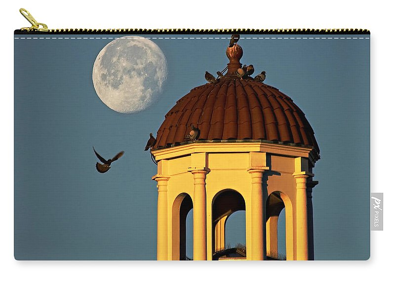 Vsu Carry-all Pouch featuring the photograph The Dome by Dan Wells