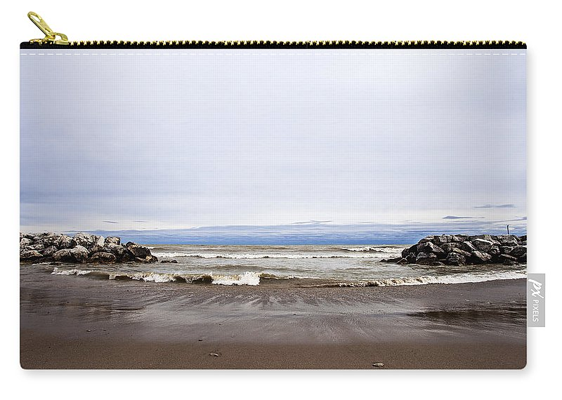 Www.cjschmit.com Carry-all Pouch featuring the photograph The Edge Of Mother Nature by CJ Schmit