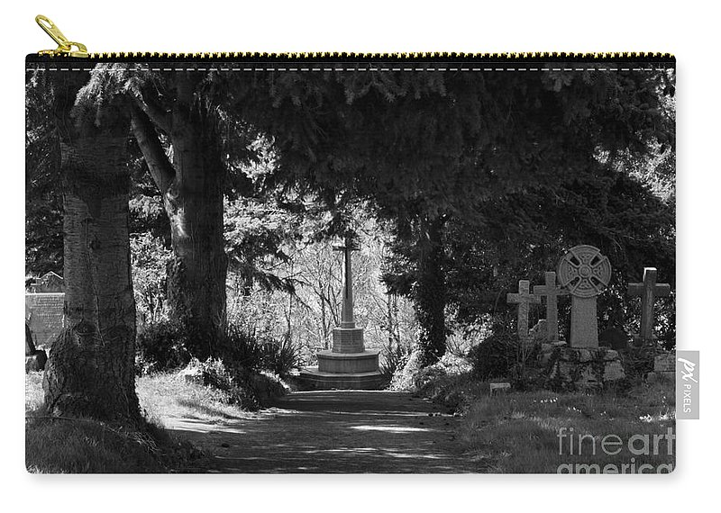 Landscape Carry-all Pouch featuring the photograph The End by Brian Roscorla