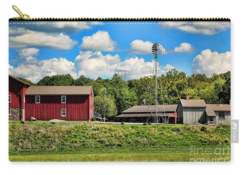 Farm Carry-all Pouch featuring the photograph The Farmstead by Paul Ward