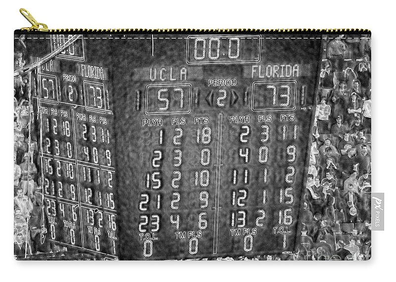 2006 Carry-all Pouch featuring the photograph The Final Score- N C A A Basketball by David Bearden