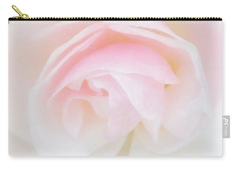 Soft Carry-all Pouch featuring the photograph The Fragile Rose by Steve Taylor