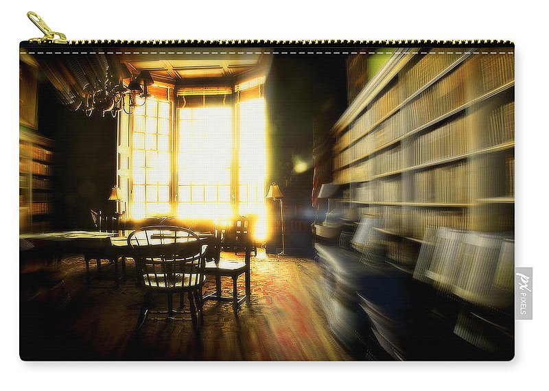 Groton School Carry-all Pouch featuring the photograph The Gardner Room by Marysue Ryan