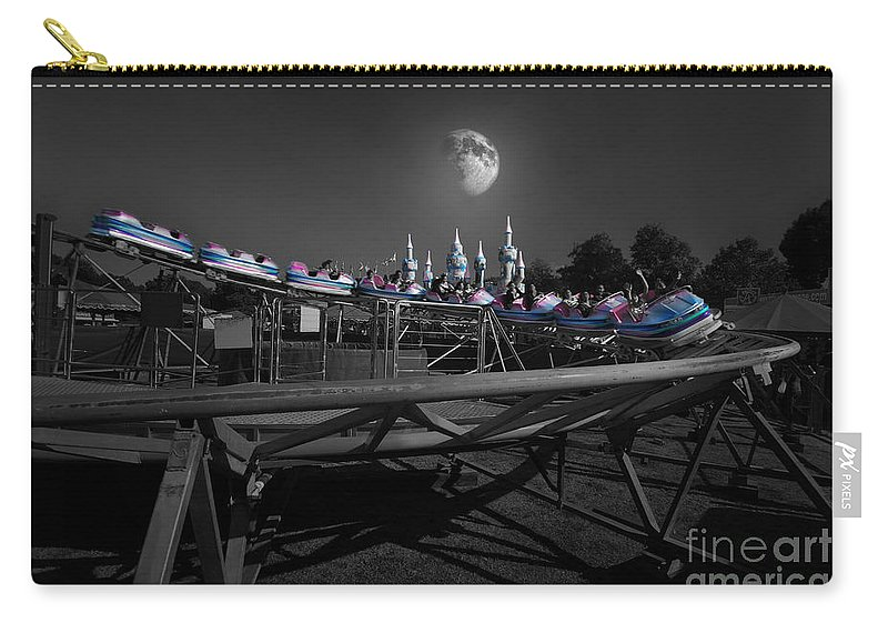 Yhun Suarez Carry-all Pouch featuring the photograph The Great Space Coaster by Yhun Suarez