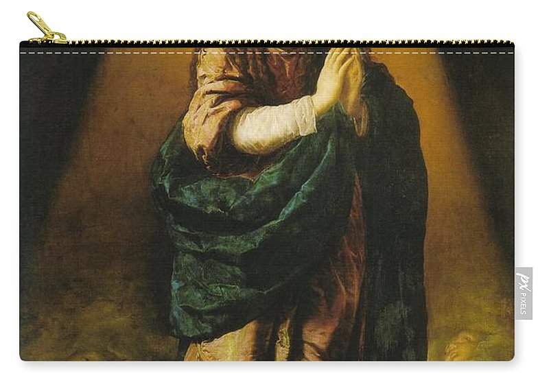 Mary Carry-all Pouch featuring the photograph The Immaculate Conception by Munir Alawi