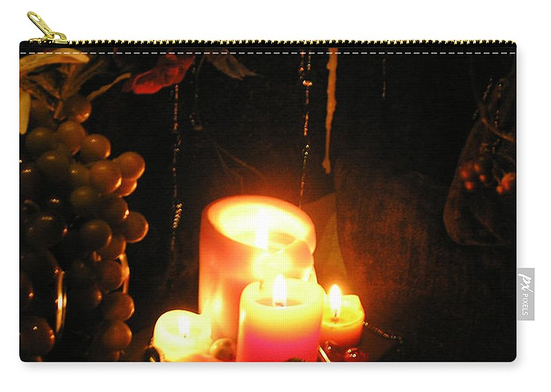 Joy Carry-all Pouch featuring the photograph The Joy Of Light by Anthony Wilkening