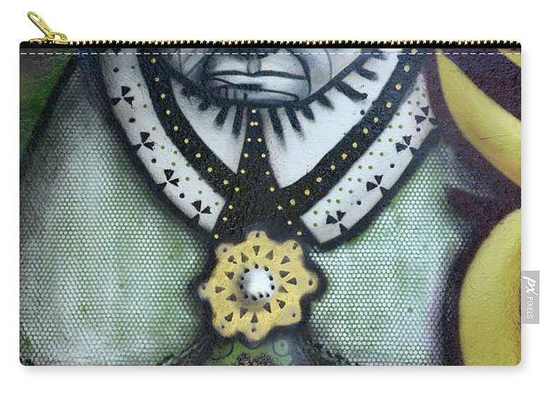 Graffiti Carry-all Pouch featuring the photograph The Leader by Bob Christopher