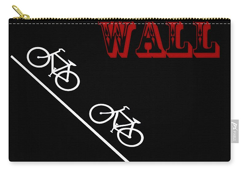 The Manayunk Wall Carry-all Pouch featuring the photograph The Manayunk Wall by Bill Cannon
