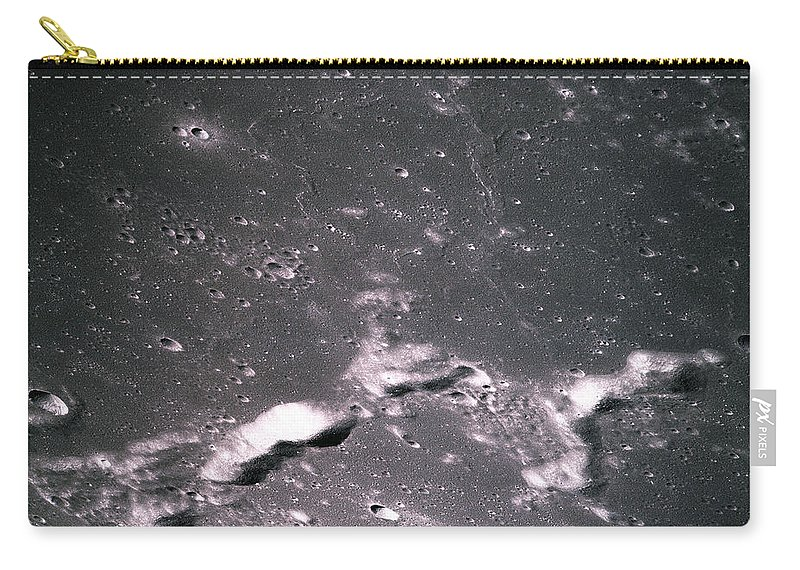 Apollo 14 Carry-all Pouch featuring the photograph The Moon From Apollo 14 by Nasa