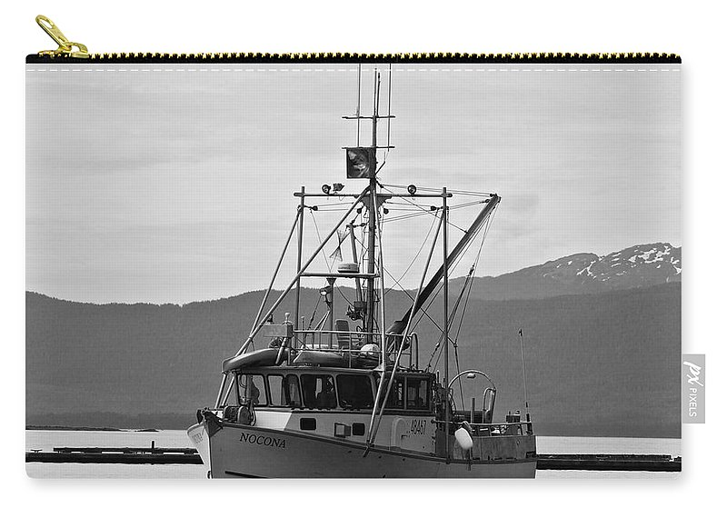 Fishing Carry-all Pouch featuring the photograph The Nocona by Eric Tressler