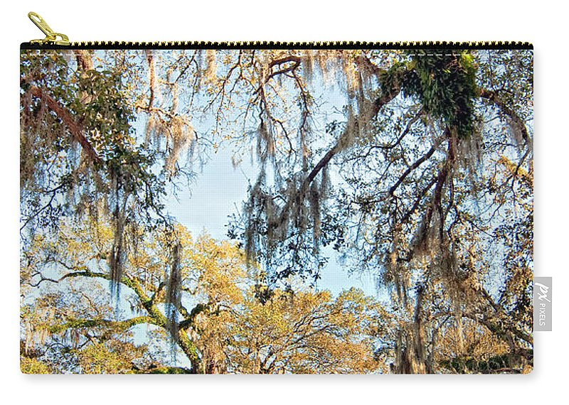 New Orleans Carry-all Pouch featuring the photograph The Oaks Of City Park by Steve Harrington