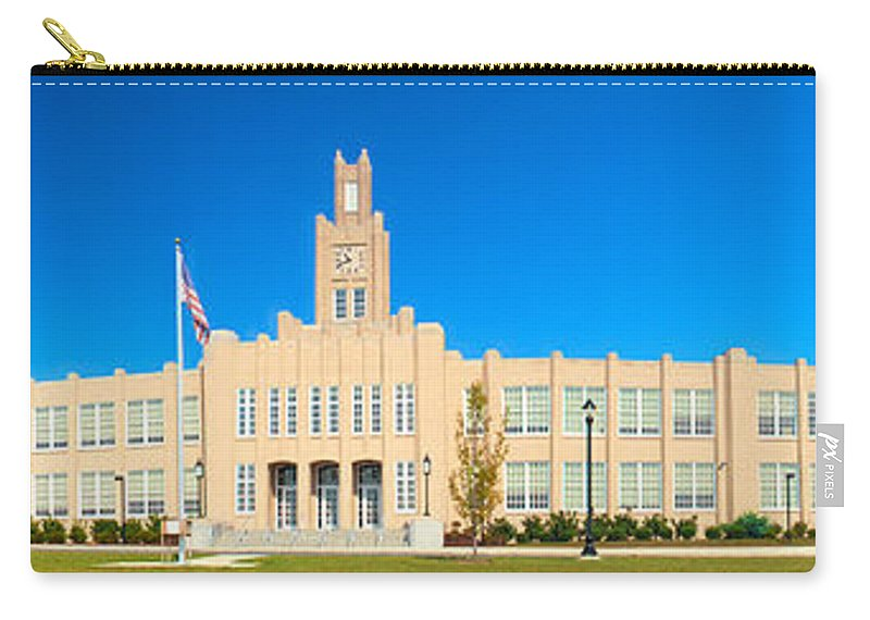 Milton Hershey School Carry-all Pouch featuring the photograph The Old High School by Mark Dodd