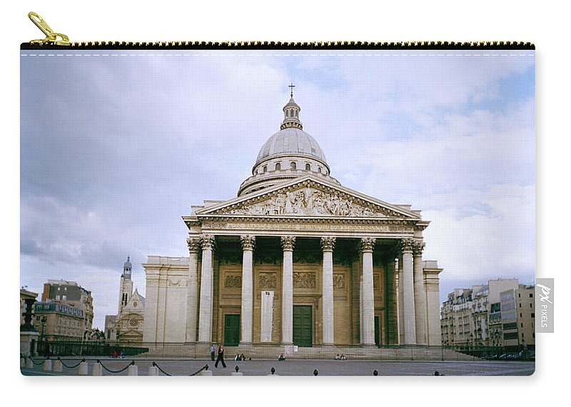 Paris Carry-all Pouch featuring the photograph The Pantheon by Shaun Higson