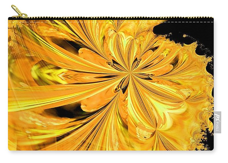 Prince Carry-all Pouch featuring the digital art The Prince Is Having A Ball by Maria Urso