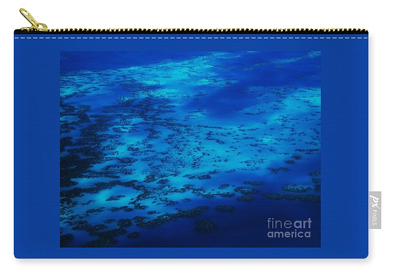 Aerial Art Reefs Surreal Travel Atlantic Ocean Bermuda Seascape From Above Stock Shot Vibrant Ocean Scape Indigo Water Turquoise Water Blue Serenity Feng Shui Metal Frame Suggested Canvas Print Poster Print Available On Greeting Cards Phone Cases Mugs Tote Bags T Shirts Pouches Weekender Tote Bags Shower Curtains Yoga Mats Carry-all Pouch featuring the photograph The Reefs Bermuda # 9 by Marcus Dagan