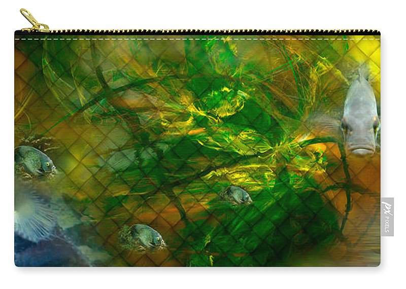 Phil Sadler Carry-all Pouch featuring the digital art The Return Of...the 'tude by Phil Sadler