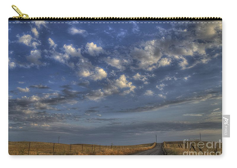 Road Carry-all Pouch featuring the photograph The Road To Nowhere by Jim And Emily Bush