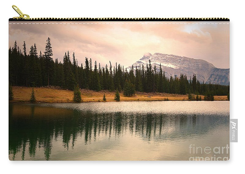 Banff Carry-all Pouch featuring the photograph The Sparkle by Tara Turner