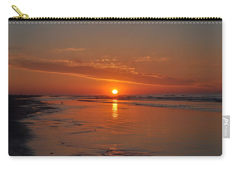 The Sun Also Rises Carry-all Pouch featuring the photograph The Sun Also Rises by Bill Cannon